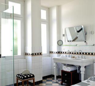 Badezimmer im Art Deco-Stil Art Deco Hotel Montana Luzern