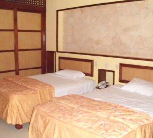 Zwei breite Einzelbetten VIK Hotel Cayena Beach Club