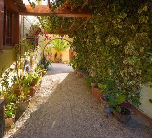 Durchgang zum Innenhof Hacienda Los Andes