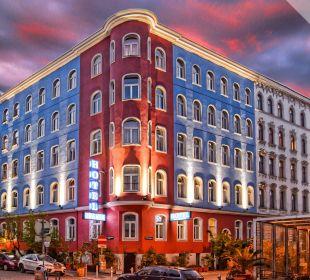 Außenansicht Hotel Urania