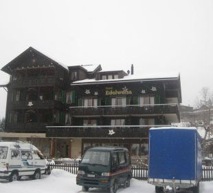 Hotelfront Hotel Edelweiss