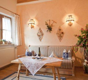 Neues Wohnzimmer der Ferienwohnung Wetterstein Ferienwohnung Alpenwelt