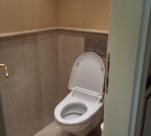 Getrenntes WC  Hotel Schwarzenstein
