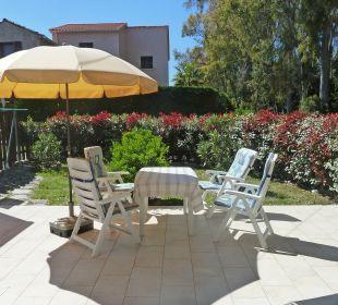 Gartenanlage Ferienhaus Casa-Corsica