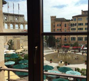 Zimmer Ausblick Hotel Colosseo Europa-Park