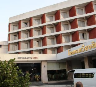 Einfahrt Hotel Wiang Inn