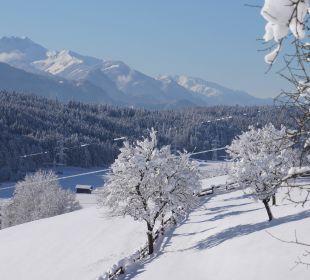 Winterlandschaft Mariastein Hotel Alpenhof