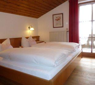 Schlafzimmer Gästehaus Willfert