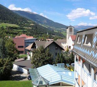 Blick vom Balkon Aktiv- & Wellnesshotel Zentral