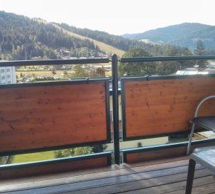 Balkon Funsport-, Bike- & Skihotelanlage Tauernhof