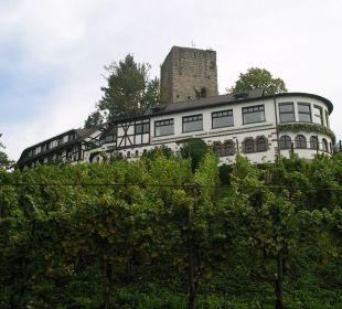 Ansicht von der Straße Hotel Burg Windeck