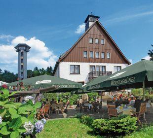 Bühlhaus, Biergarten, Aussichtsturm Hotel Bühlhaus
