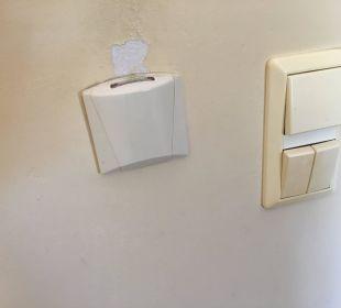 Schlüsselstecker fürs Licht Hotel Possidona Beach