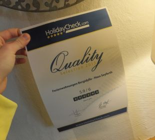 Quality Selection 2013 Bergidylle Harz - Suites