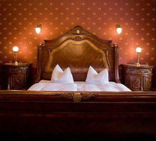 Schlafzimmer im Schloss Schlosshotel Wendorf
