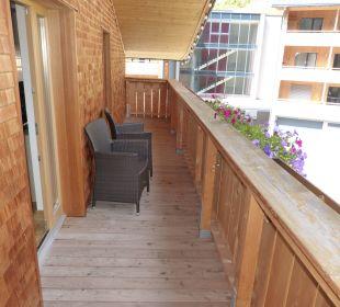 Balkon Berghotel Madlener