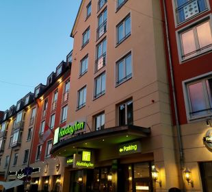 Aussenansicht Hotel Holiday Inn Nürnberg City Centre