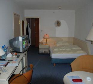 Einzelzimmer 9.Etage Hotel Neptun