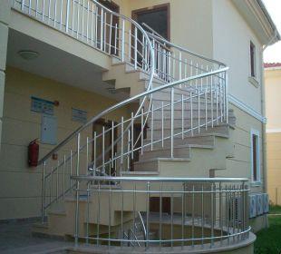 Eingang zum Zimmer oben Hotel The One Club