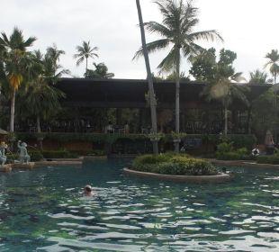 Vom Strand aus gesehen... Anantara Bophut Koh Samui Resort