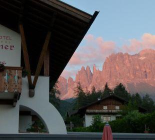 Rosengarten-Glühen Naturpark Hotel Stefaner