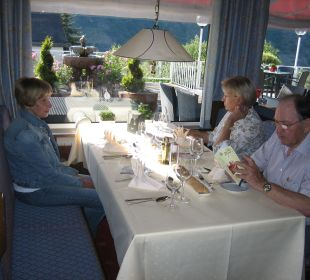 Zeer lekker eten Moselromantik Hotel Thul