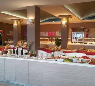 Teil des reichhaltigen Abendbüffet Hotel Corissia Princess