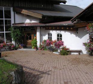 Hotel Eingang Hotel Alpenhof Jäger