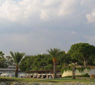 Kurzer Weg zum Pool Hotel Rixos Premium Tekirova