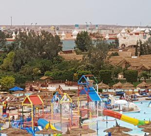 Ausblick Jungle Aqua Park