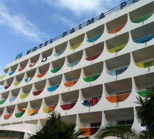 Frontansicht Hotel Palma Playa - Cactus