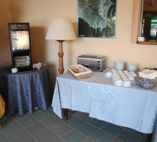 Der Pulver-Kaffeeautomat Hotel Residence Fenicia