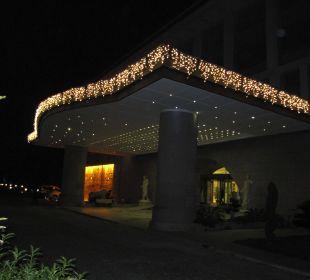 Vorweihnachtliche Beleuchtung Kilikya Palace Göynük