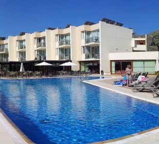 Poolbereich Aparthotel Duva & Spa