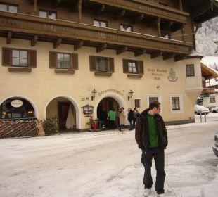 Blick auf das Hotel Landhotel Kaserer