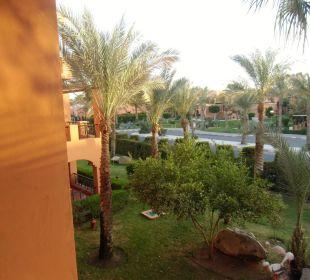 Von Zimmer 632 auf Strasse Sensimar Makadi Hotel
