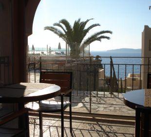 Ausblick vom italienischen Restaurant MarBella Corfu Hotel