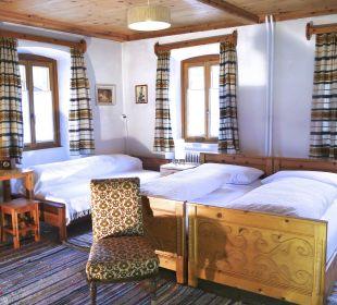 Dreibettzimmer Swiss-Historic-Hotel Münsterhof