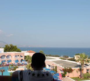 Blick vom Balkon Hotel Mitsis Rhodos Village & Bungalow