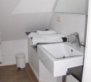 Unser Badezimmer Hotel Long Island House Sylt