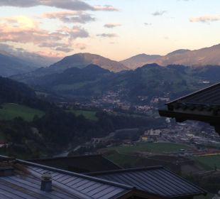 Ausblick aus dem Zimmer Aktivhotel Alpendorf