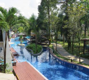 Blick vom Balkon  La Flora Resort & Spa