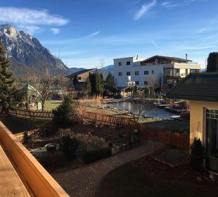 Ausblick vom Zimmer Alpenresort Schwarz