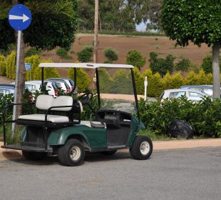 Golfcar -  bei Ankunft wird man abgeholt Hotel Horizon Beach Resort