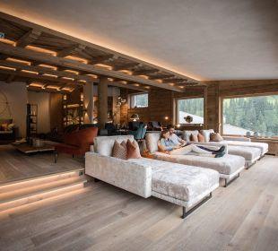 Himmelreich mit Leselounge und offenem Kamin Hotel Alpin Spa Tuxerhof