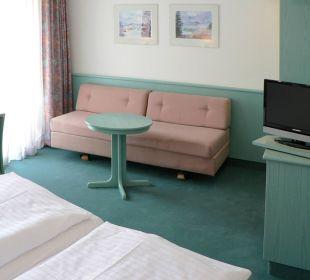 Unsere Komfortzimmer mit Couch und Balkon zum Hof Nichtraucher Hotel Till Eulenspiegel