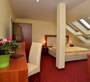 Ferienwohnung Wohn-Schlafberiech Hotel Via City