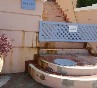 Außenanlage Hotel Mitsis Rhodos Village & Bungalow