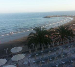 Ausblick vom Balkon Hotel Dunas Don Gregory