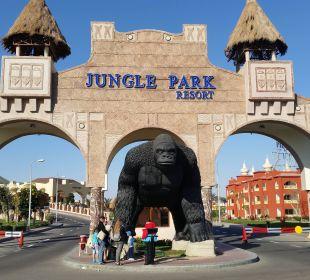 Eingang Jungle Aqua Park